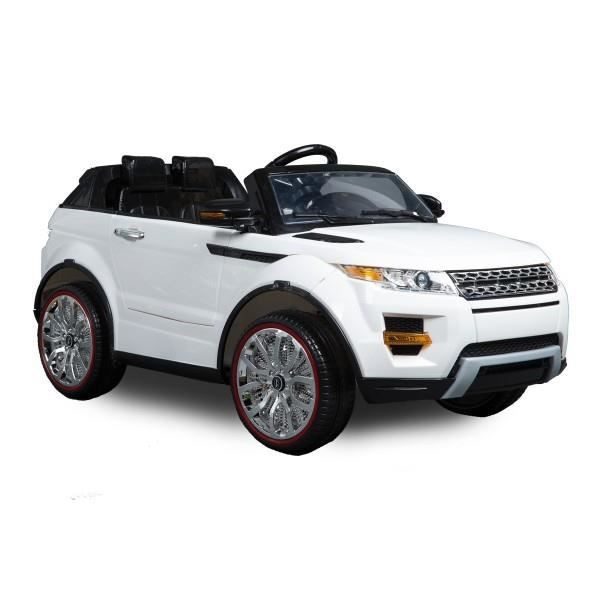4x4 style evoque 12 v 2 places blanc achat vente voiture enfant cdiscount. Black Bedroom Furniture Sets. Home Design Ideas