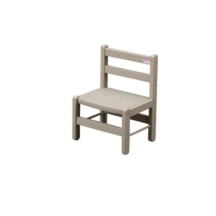 Chaise basse en bois haut de gamme chambre enfant gris Chambre bebe haut de gamme
