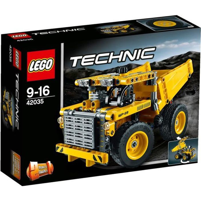 lego technic 42035 le camion de la mine achat vente assemblage construction cdiscount. Black Bedroom Furniture Sets. Home Design Ideas