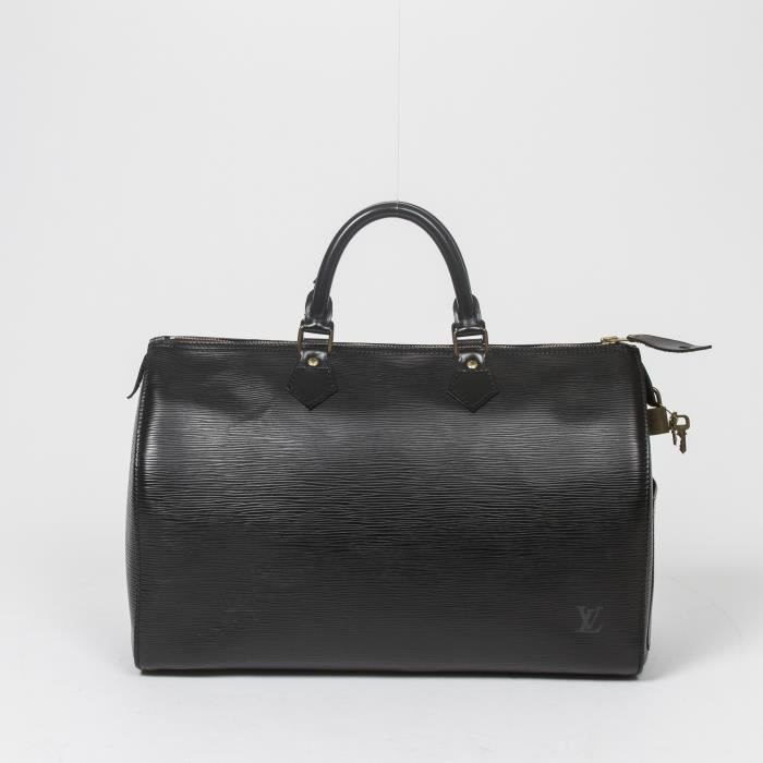 Louis Vuitton - Sac à main - Epi Black - 452 - Achat   Vente Louis ... 64b4710e94f