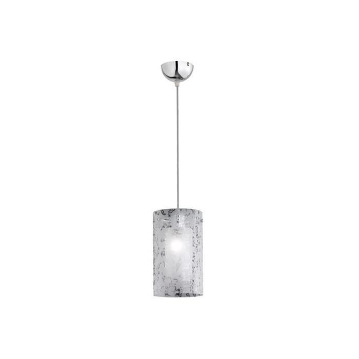 Lustre suspension regazza argent achat vente lustre for Lustre ou suspension