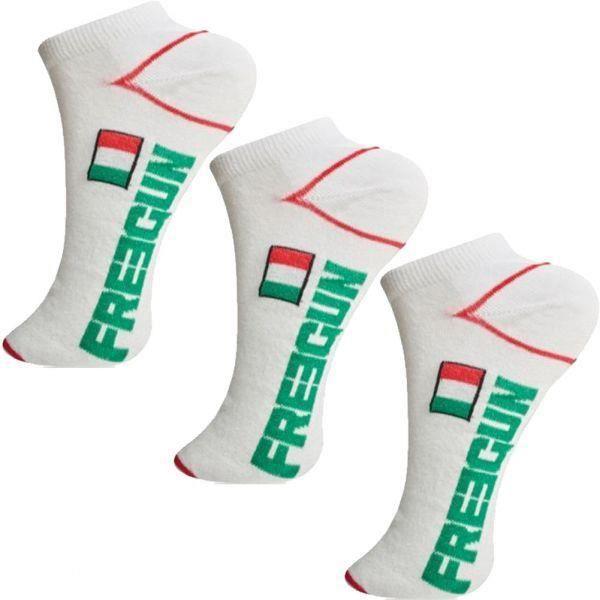 Funny Socks Boîte Cadeau Homme Lot de 3 Paires Coton Style Cheville Taille 39-42 43-46
