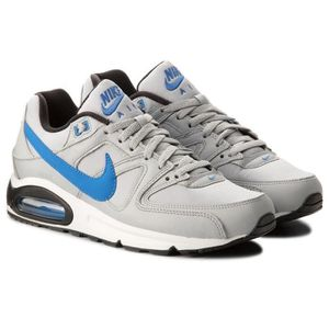 sports shoes hot sales quality NIKE Baskets Air max Command - Homme - Gris et blanc - Achat ...