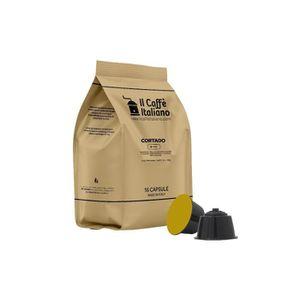 CAFÉ 96 Capsules de Soluble Cortado compatibles avec ma