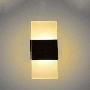 APPLIQUE  3W LED Lampe carrée Sconces Applique murale Bar Ca