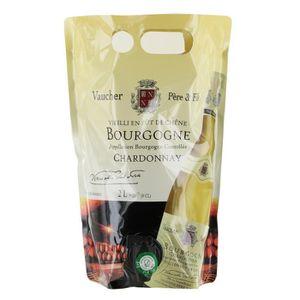 VIN BLANC VAUCHER Chardonnay Vin de Bourgogne - Blanc - Viei