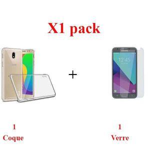ACCESSOIRES SMARTPHONE X1 Pack, Pack verre+coque samsung j5 2017 Sans bul