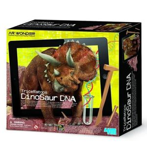 NATURE - ANIMAUX 4M AR WONDERS Kit scientifique adn - Triceratops