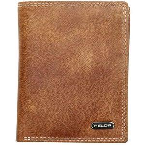 PORTEFEUILLE Felda - Portefeuille droit en cuir - RFID/boîte ca