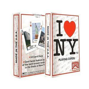 JEU MAGIE Jeu de cartes Bicycle - I love New york