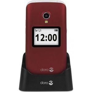 Téléphone portable TELEPHONE PORTABLE DORO 2424 ROUGE
