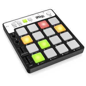 CARTE CONTROLEUR Contrôleur MIDI  IK Multimedia  iRig PADS