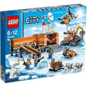 ASSEMBLAGE CONSTRUCTION LEGO® City 60036 Le Camp de Base arctique