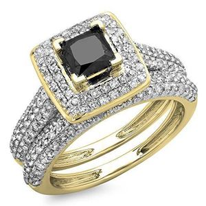 ALLIANCE - SOLITAIRE Bague Femme - Alliance 1.40 ct  18 ct 750-1000 Or