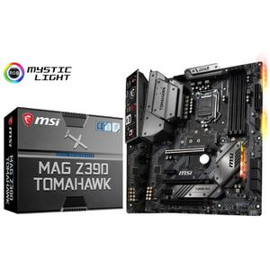 CARTE MÈRE Carte mere MSI MAG Z390 Tomahawk, Intel Z390 - Soc
