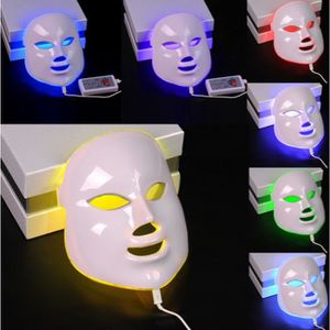 ANTI-ÂGE - ANTI-RIDE 7 Couleur LED Photon Masque Facial Rides Acné Retr