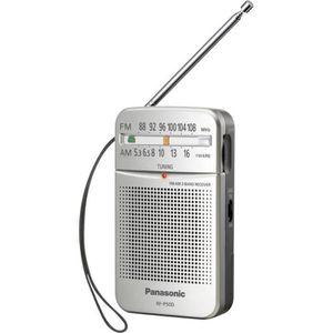 RADIO CD CASSETTE Radio de poche FM RF-P50DEG argent