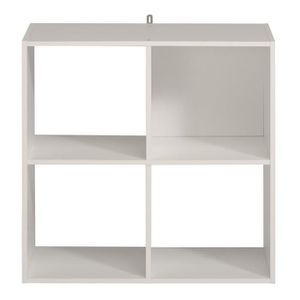 etagere 4 cases achat vente etagere 4 cases pas cher soldes cdiscount. Black Bedroom Furniture Sets. Home Design Ideas