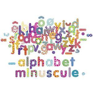 JEU D'APPRENTISSAGE VILAC - Magnets Alphabet minuscule 81 pcs