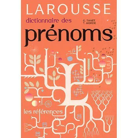 LIVRE ENFANT FAMILLE Dictionnaire des prénoms