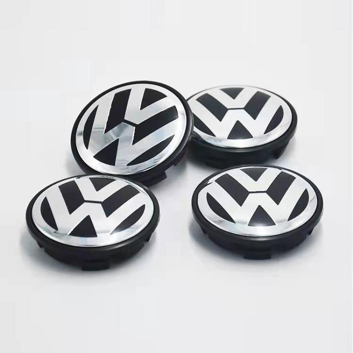 4 x centre de roue cache moyeu VW 56mm logo volkswagen emblème 1J0601171
