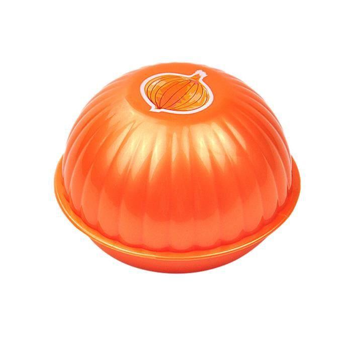 Boîte de rangement fraîche de forme d'oignons de tomate de récipients de légume de nourriture de cuisine HJF91204154OR_sa