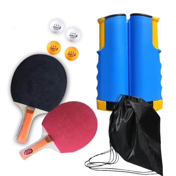Tennis de table-Rack de maille télescopique Set-4pcs Tennis de table PT-265