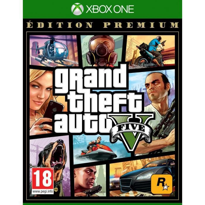 GTA V : EDITION PREMIUM Jeu Xbox One