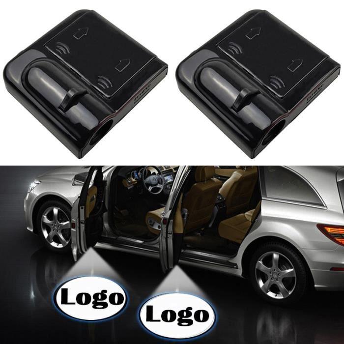 for Ford -Projecteur Laser de bienvenue à Led pour porte de voiture, 1 pièce, lumière ombre fantôme sans fil, lampe de courtoisie po