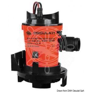 Pompe centrifuge d'aération Europump pour vivier à poissons
