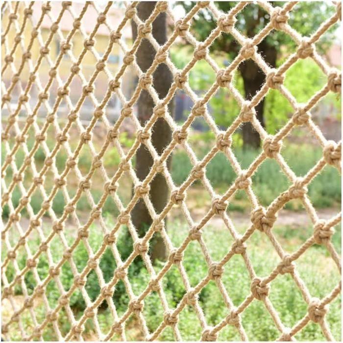 BARRIERE DE SECURITE BEBE Chanvre Corde De S&eacutecurité Filet Garde-Corps Filet De Protection Net De Plafond Int&eacut670