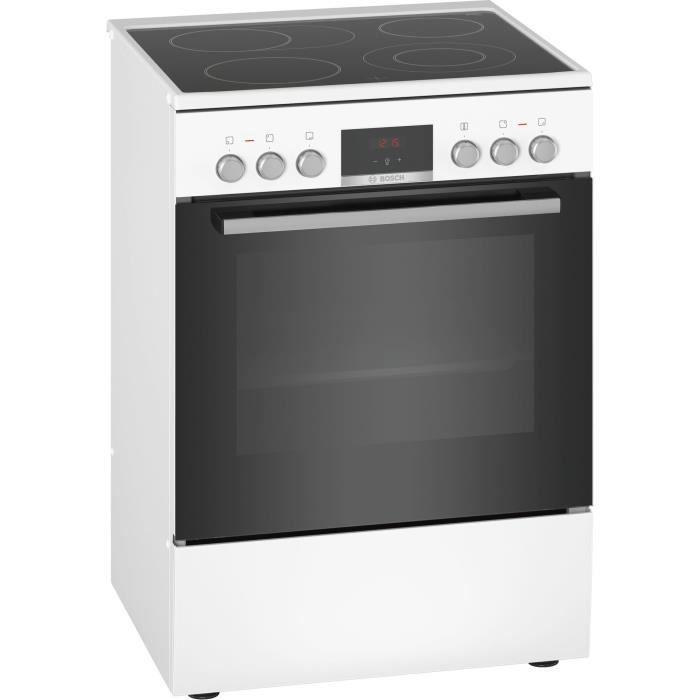 Bosch Serie 4 HKR39C220, Cuisinière, Blanc, Rotatif, Tactil, En haut à droite - gauche, 1,2 m, Électronique
