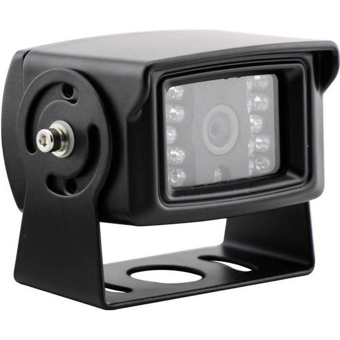 INOVTECH Caméra de recul filaire - Modèle 18 - LEDS - noir