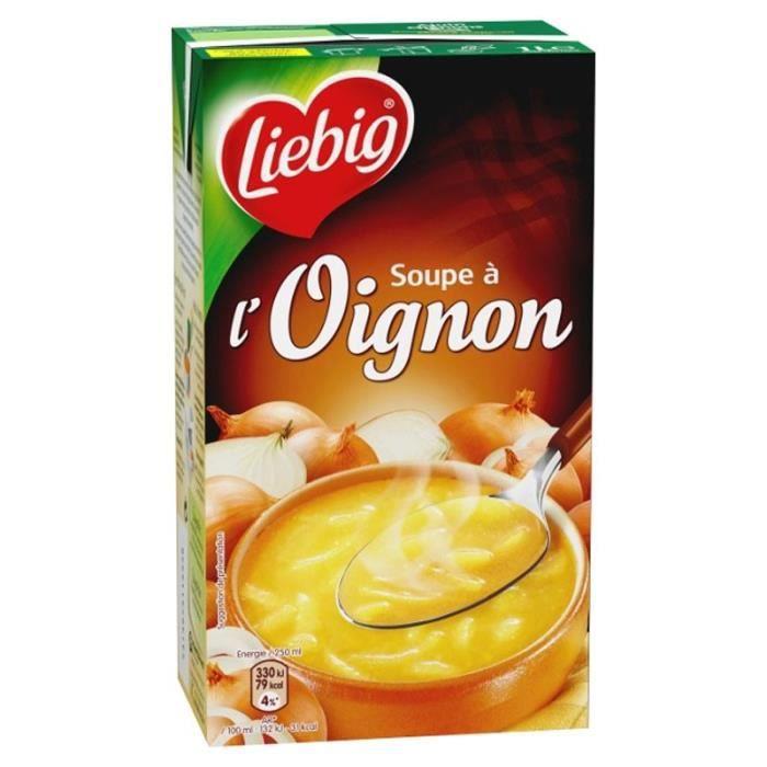Liebig - Liebig Soupe à l'Oignon et au Fromage Fondu (lot de 3)