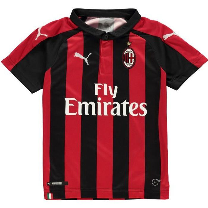 Puma Ac Milan Maillot Domicile Football 2018 2019 Enfant