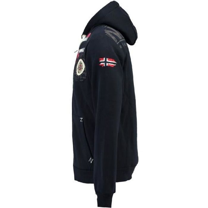 Sweat Homme Geographical Norway Fespote New Marine