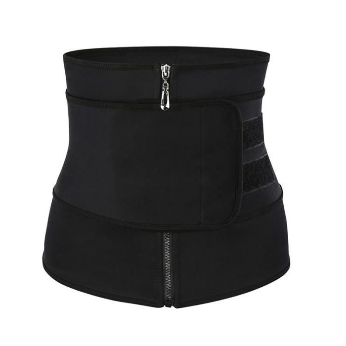 1pc femmes sport zipper ceinture corset amincissant fitness shapers gilets - SHORT DE SPORT - BERMUDA DE SPORT - SHORT TECHNIQUE