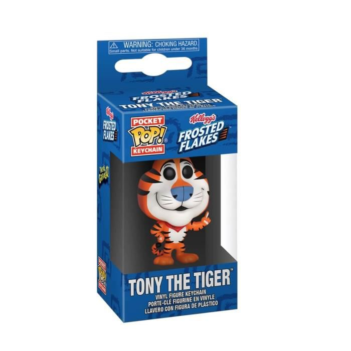 Figurine Icons - Tony The Tiger Pocket Pop 4cm