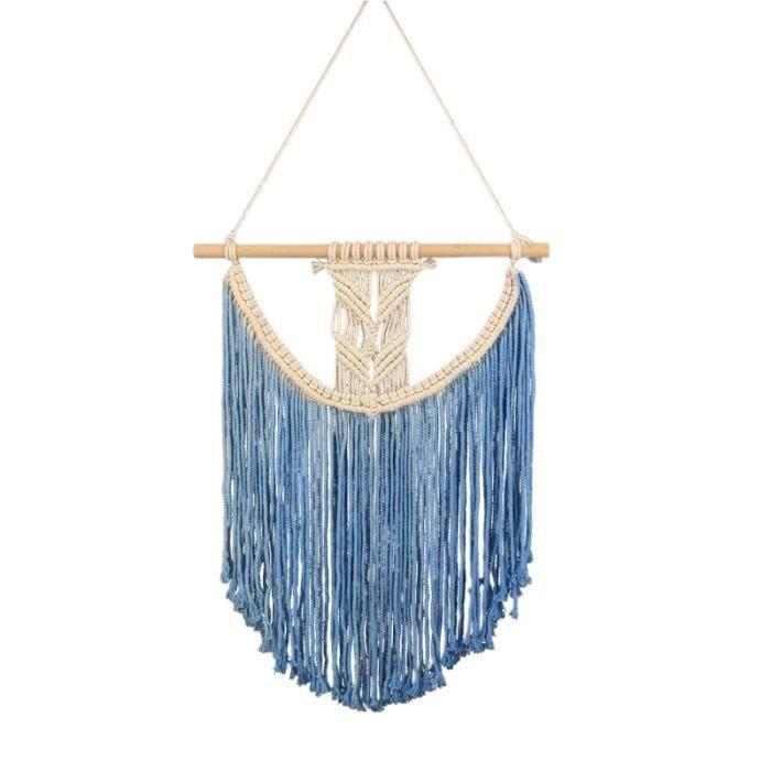 Tapisserie tissée à la main de tenture de coton de rideau jolie pour décoration à SERVIETTE DE PLAGE - DRAP DE PLAGE - FOUTA