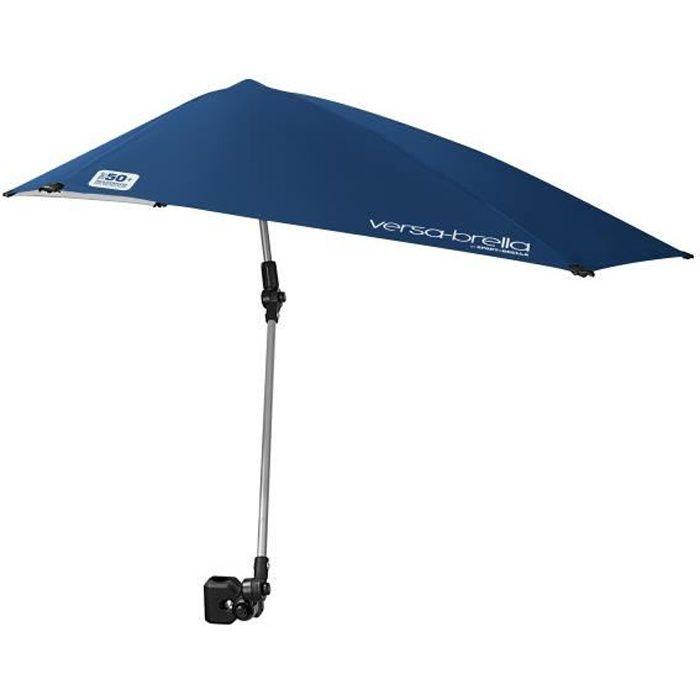Ombrelle de protection Sport-Brella Versa-Brella multi-position avec pince, bleu nuit