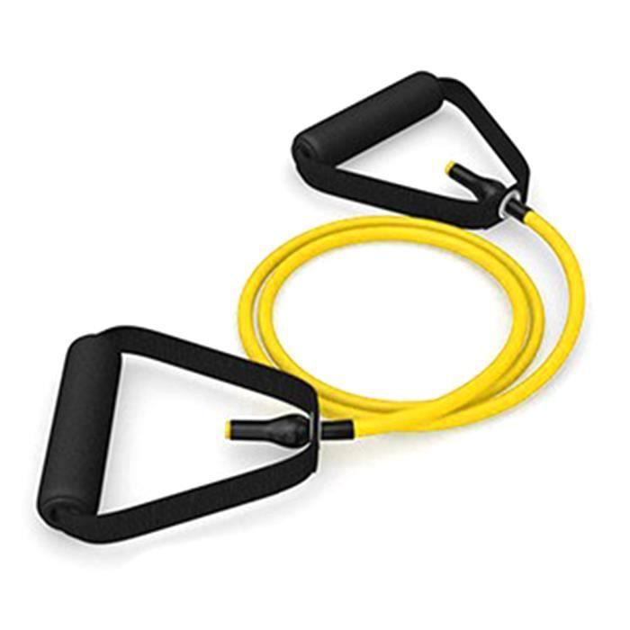 SURENHAP Élastique Bandes de résistance Sport Fitness Expander Pull Rope Tubes Équipement d'exercice physique -10-15LB