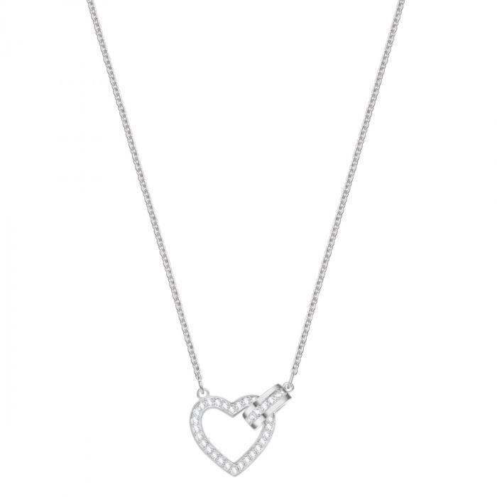 Collier Coeur femme Swarovski Lovely - 5380703 Argent