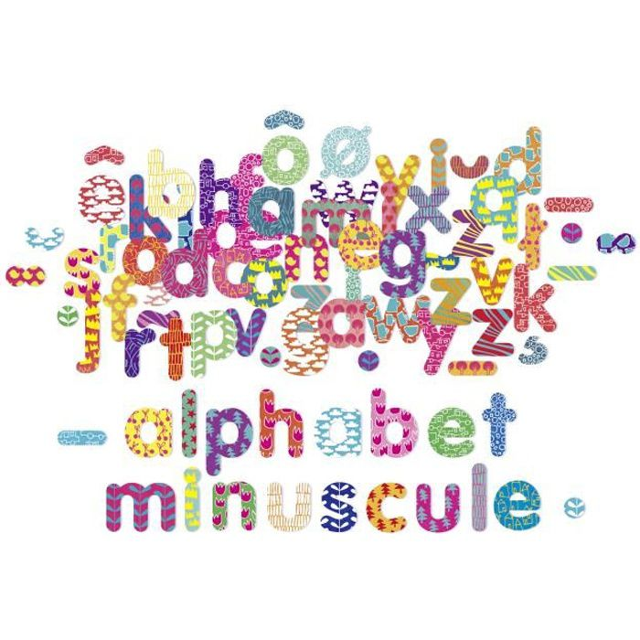 VILAC - Magnets Alphabet minuscule 81 pcs