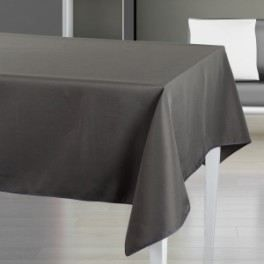 nappe anti tache gris anthracite 140x240 cm 103900l achat vente nappe de table cdiscount. Black Bedroom Furniture Sets. Home Design Ideas