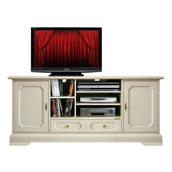 meuble tv classique home cin ma achat vente meuble tv. Black Bedroom Furniture Sets. Home Design Ideas