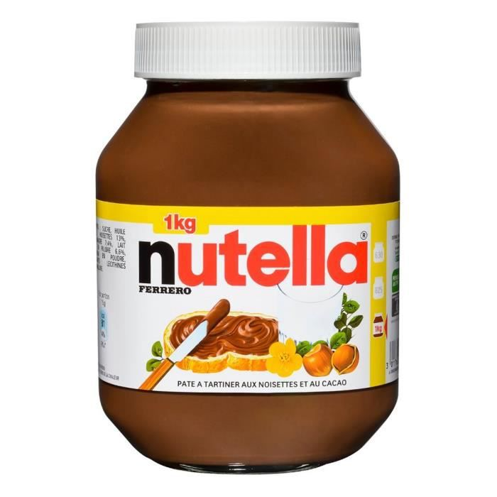 nutella pot 1kg achat vente p te tartiner nutella pot 1kg cdiscount. Black Bedroom Furniture Sets. Home Design Ideas