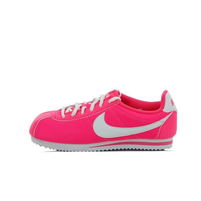 basket nike rose fluo