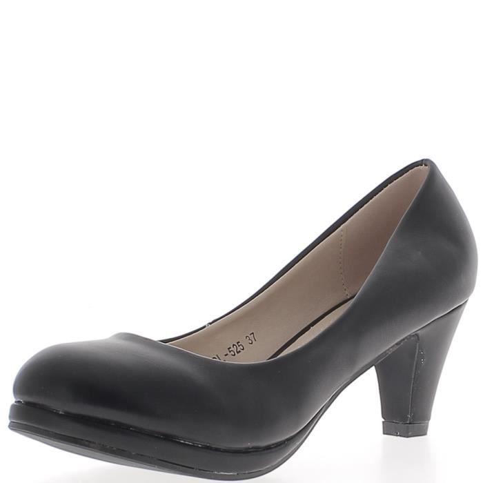 Bottines Femme Talon Haut 16 cm Talons Aiguilles Plateforme Chaussures Escarpins discothèques cuir verni