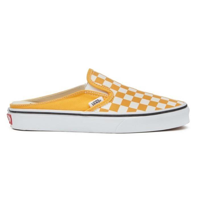 chaussure vans homme jaune