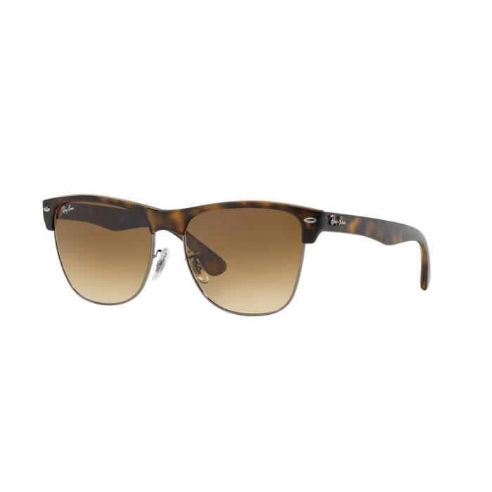 Lunettes de soleil Ray Ban Clubmaster Oversized RB4175 878-51 Taille ... 72c466d6d61c